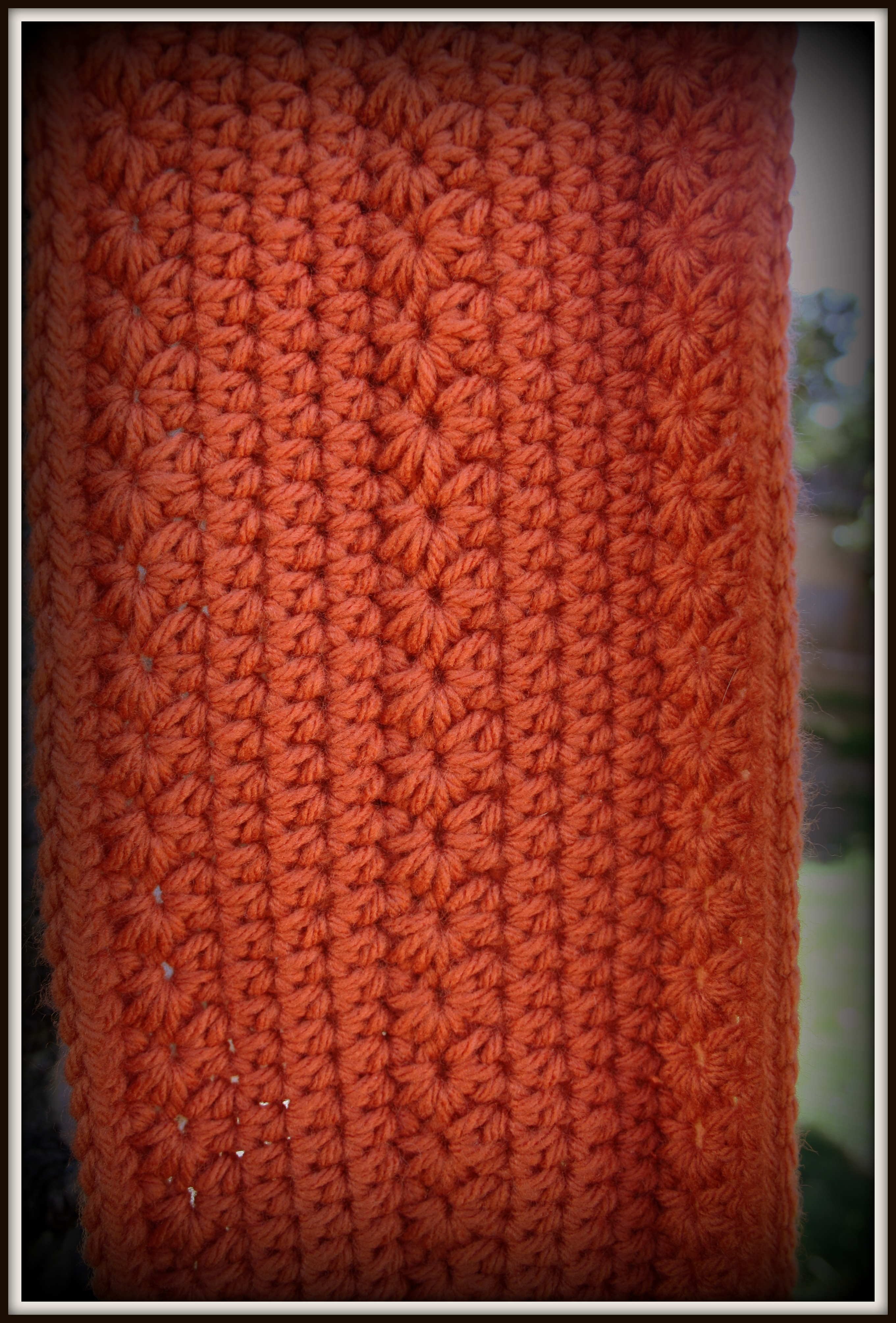 Free crochet pattern pumpkin infinity scarf dandelion daze pattern instructions bankloansurffo Image collections